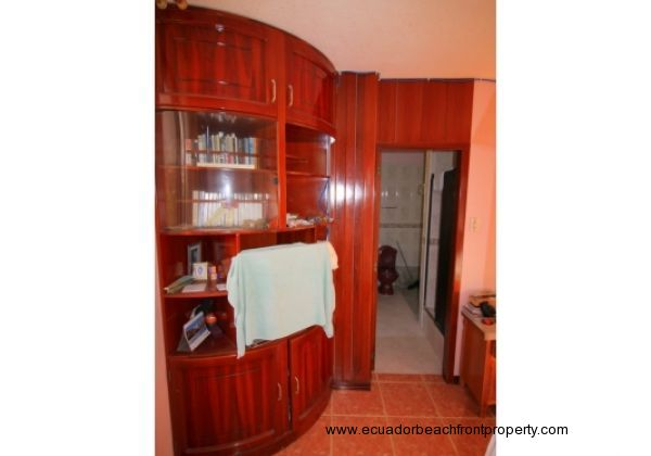 Built in closet and entertainment center