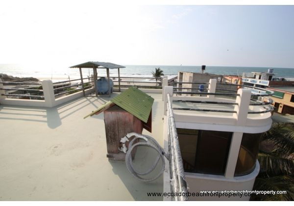 Fourth floor terrace with raised water tank and AC housing