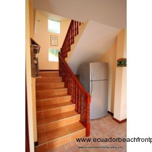 stairs to the second story