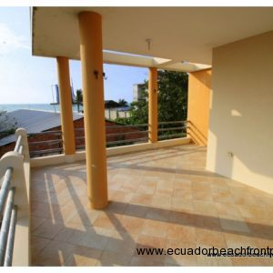 Views to ocean from second floor terrace