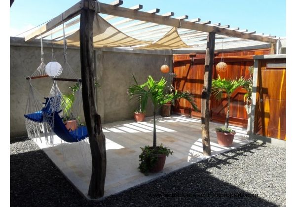 Pergola can double as a carport