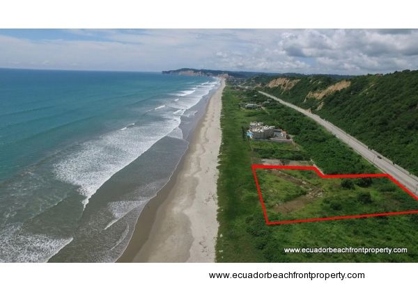 Beachfront Lot for Estate or Development Project