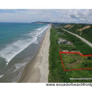 Canoa Real Estate, Beachfront Lot for Estate or Development Project