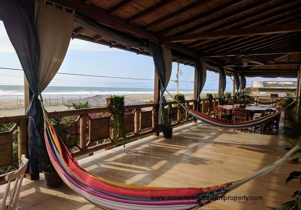 Gorgeous views and fresh breezes from the enormous wraparound beachfront balcony