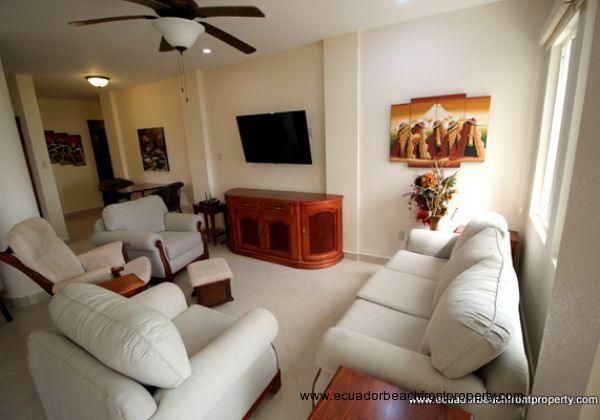 SOLD!  - High End Canoa Beachfront Condo