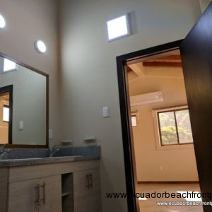 Master bedroom has a spacious ensuite bathroom