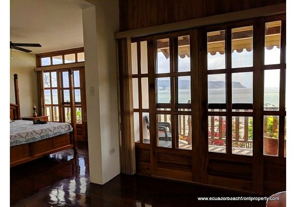 Waterfront home for sale in Ecuador