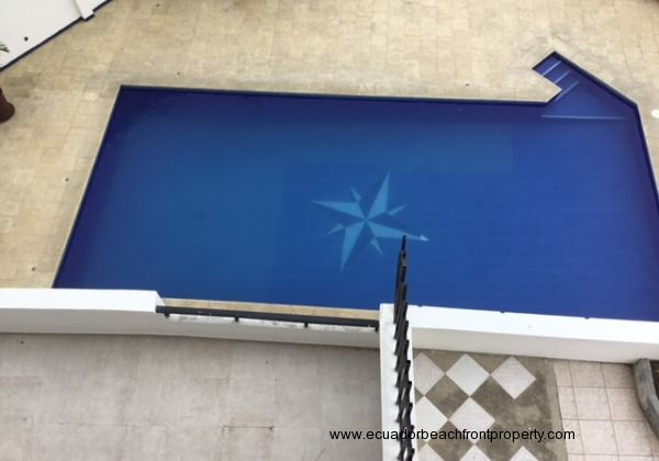 Pool and outside space