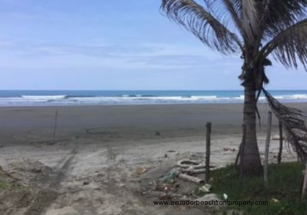 True Beachfront Land For Sale near Canoa