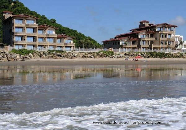 Recently completed, 18 unit beachfront condos