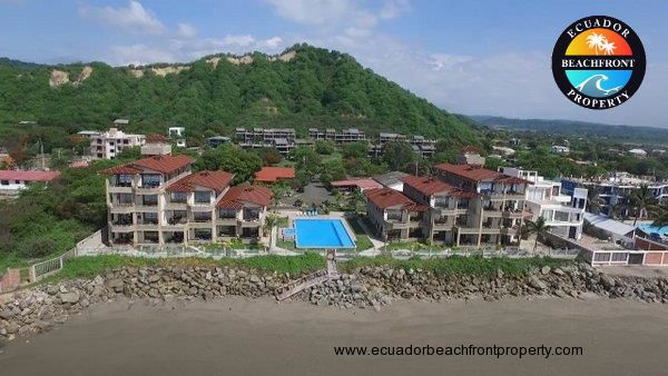 Ensenada del Pacifico beachfront condo for rent in Ecuador