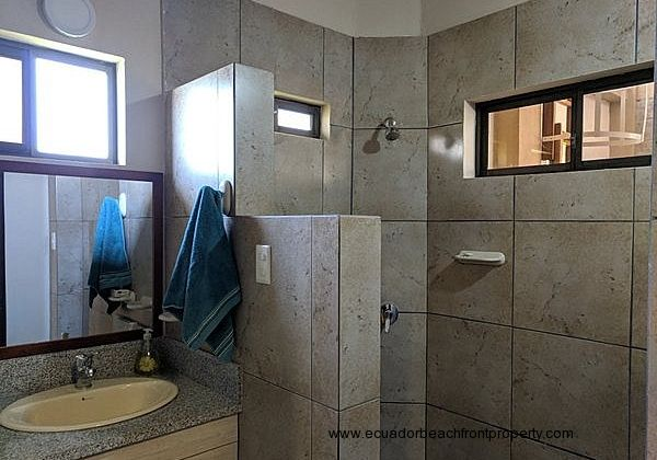 2nd bath with walk-in shower