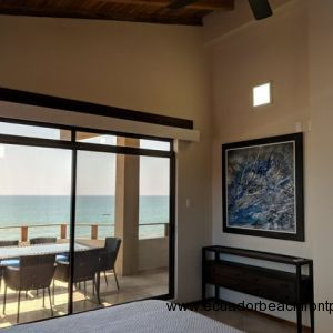 Master bedroom has ocean views
