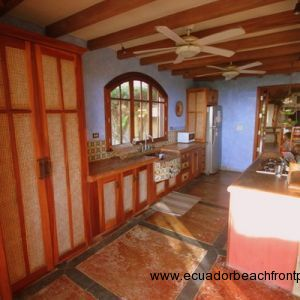 Stained concrete floors and counters