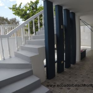 Staircase to second level