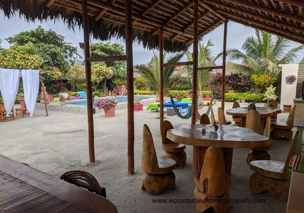 Beachfront hotel for sale in Ecuador