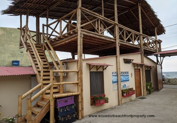Ecuador beachfront hotel for sale in San Alejo, Manabi