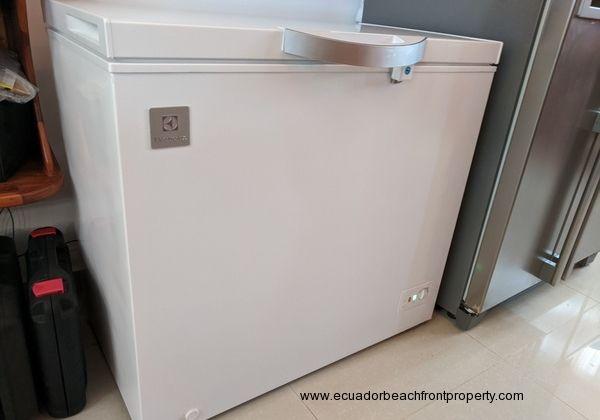 Separate freezer