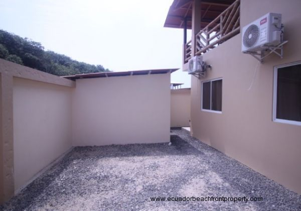 Backyard and workshop or storage