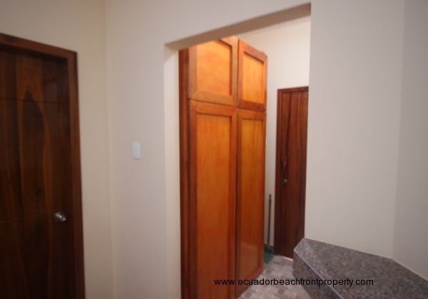 Pantry and side door