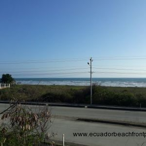 This beautiful lot with direct beach access, situated at the entrance to the village of Canoa.