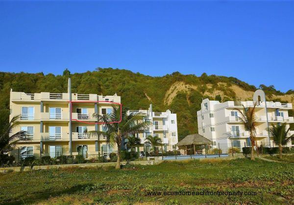 SALE PENDING ---  Beachfront Condo on Miles of Sandy Beach