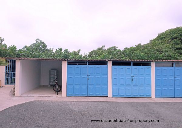 Gated storage garage