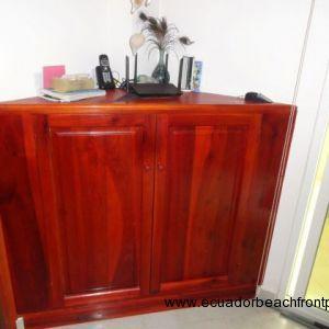 Custom handmade storage cabinet