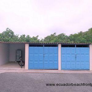 Gated storage garage