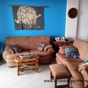 Beachfront living room