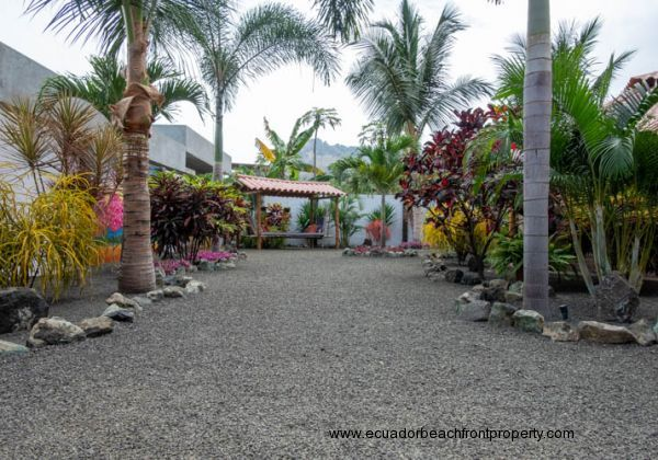 Beautiful mature gardens surrounding this property on this ample double lot.