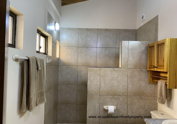 Master bath with walk in shower.