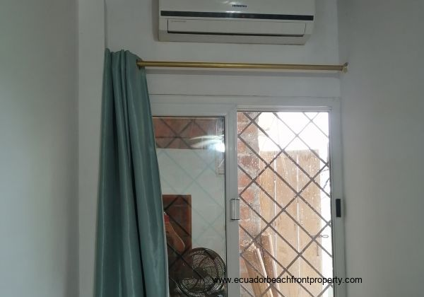 AC in the master bedroom.