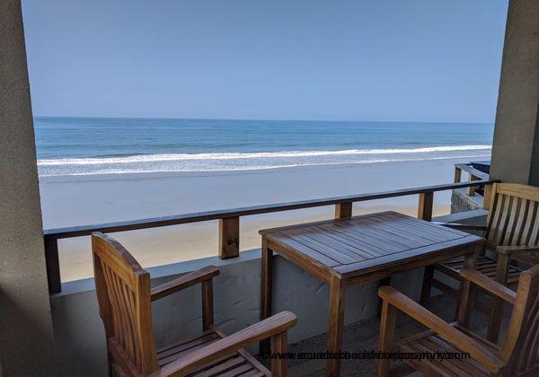 Beach and sea views.