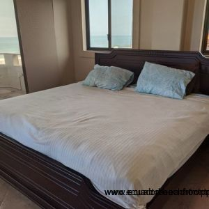 King bed in master.