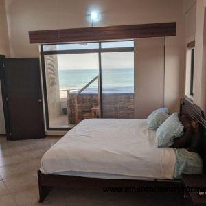 Sea view master suite.