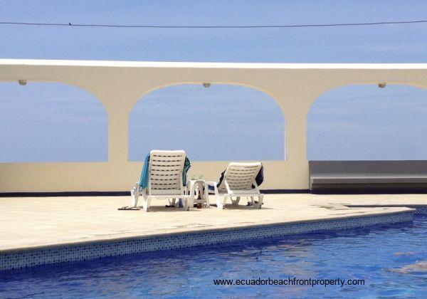 Ecuador Beachfront Property with Pool