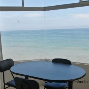 Stunning view from the dining area of this condo!
