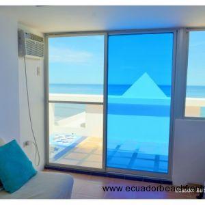 3rd floor bedroom has wall unit A/C