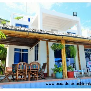 PRICE REDUCED! Beachfront Gem in Crucita
