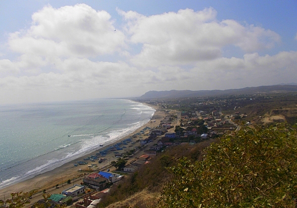 Oceanview lot for sale in Ecuador