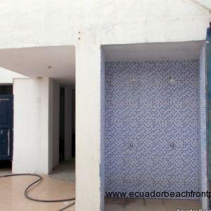 exterior showers and social baths
